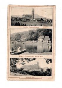 AK Oberfranken Hausen Überfahrt nach Schloss Banz - Vierzehnheiligen 1913