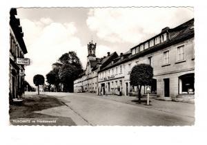 AK Oberfranken Teuschnitz Frankenwald Kronach Gasthaus zum Rathaus Tankstelle