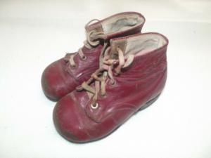 Antike Kinderschuhe Shabby Chic Vintage Kinder Schuhe
