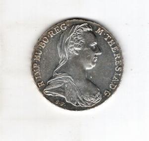 Österreich - Silbermünze Maria Theresia Taler in Silber spätere Prägung