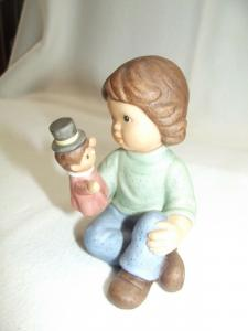 Goebel Figur * Nina & Marco * Marco mit Handpuppe Limited Edition 2003