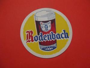 BD Alter Bierdeckel Frankreich Brauerei Rodenbach