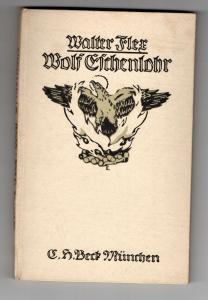 Deutschland Soldat  Walter Flex Wolf Eschenlohr 1 Weltkrieg