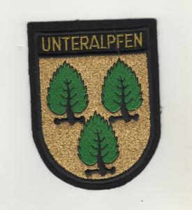 Aufnäher Patch Gemeinde Unteralpfen Baden Württemberg