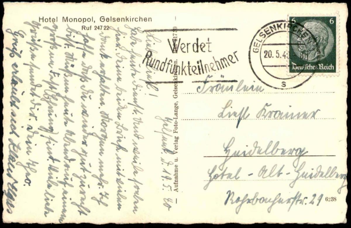 Www Hotel Monopol Gelsenkirchen