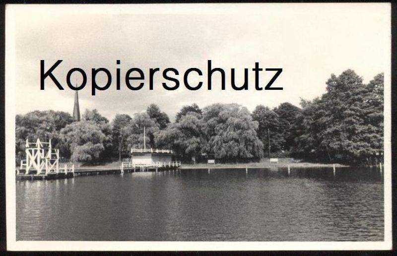 POSTKARTE GROSS-KÖRIS BETRIEBSFERIENHEIM VEB KWV Berlin-Friedrichshain Königs Wusterhausen Groß-Köris Briefmarke Fechten