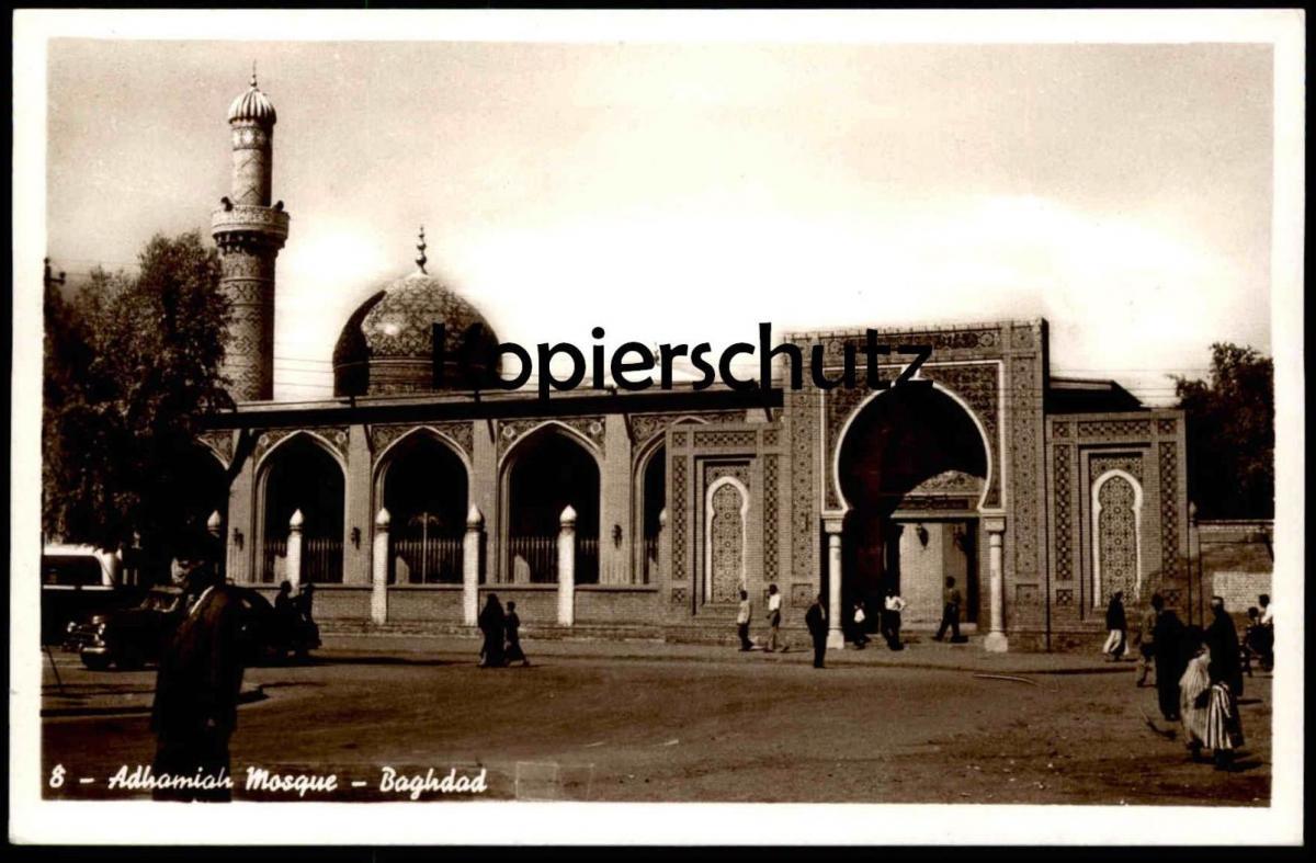 ALTE POSTKARTE BAGHDAD ADHAMIAH MOSQUE Moschee Bagdad Irak Iraq cpa postcard AK Ansichtskarte