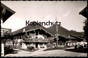 ÄLTERE POSTKARTE RUHPOLDING ROLLER VESPA VW KÄFER Motorroller motor scooter Bayern Ansichtskarte AK cpa postcard