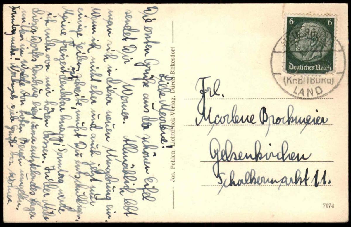 Baustoffe Luxemburg alte postkarte gruss aus dem grenzort dasburg eifel luxenburgisches