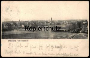 ALTE POSTKARTE LEVERKUSEN-OPLADEN GESAMTANSICHT Total cpa postcard AK Ansichtskarte