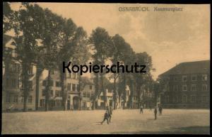 ALTE POSTKARTE OSNABRÜCK KASERNENPLATZ Kinder children enfants postcard Ansichtskarte cpa AK