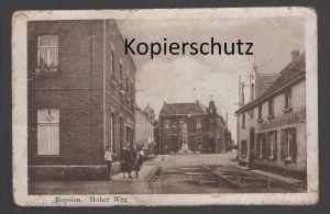 ALTE POSTKARTE REPELEN HOHER WEG Rheinkamp Moers Repelen Ansichtskarte postcard AK cpa