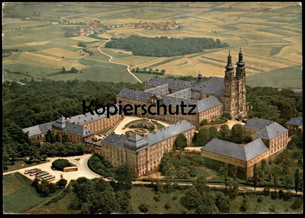 ÄLTERE POSTKARTE SCHLOSS BANZ BEI STAFFELSTEIN OFR. Schloss castle chateau cpa postcard Ansichtskarte AK