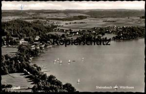 ÄLTERE POSTKARTE STEINEBACH MIT WÖRTHSEE Ansichtskarte postcard AK cpa