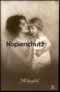 ALTE POSTKARTE MUTTERGLÜCK Kind Mutter enfant mère child mother cpa postcard Ansichtskarte AK