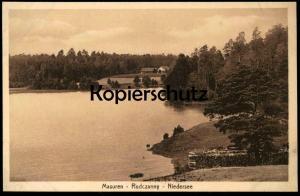 ALTE POSTKARTE MASUREN RUDCZANNY NIEDERSEE cpa postcard AK Ansichtskarte