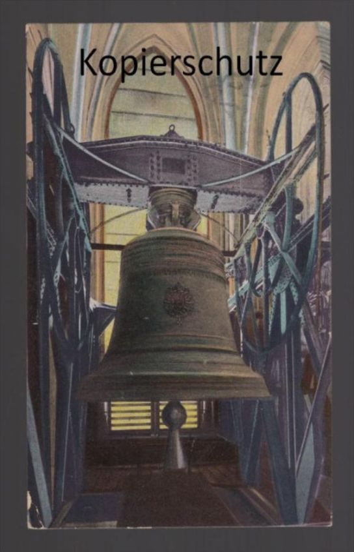ALTE POSTKARTE CÖLN A. RH. DOM DIE KAISERGLOCKE bell cloche bells cloches clarine Glocke Ansichtskarte postcard AK cpa