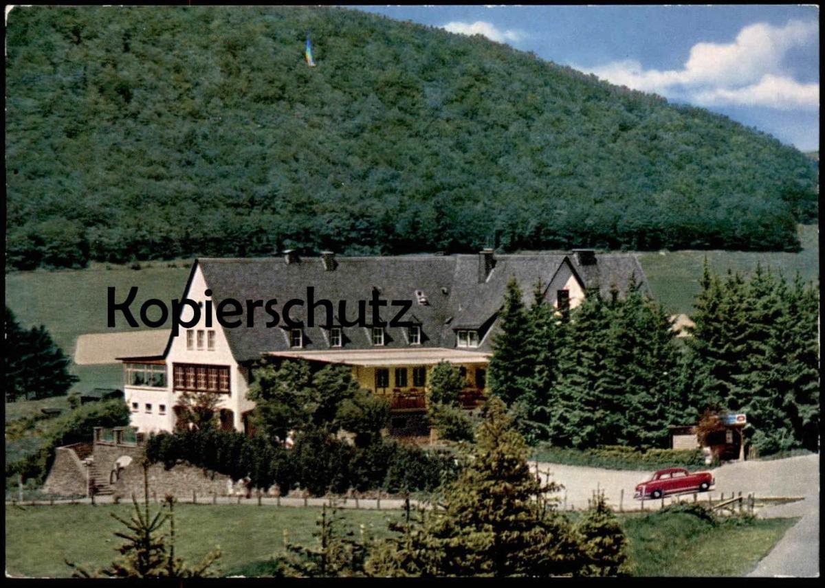 ÄLTERE POSTKARTE GRAFSCHAFTER HOF MIT GRAFSCHAFTER KELLER Schmallenberg cpa postcard AK Ansichtskarte