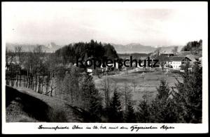 ALTE POSTKARTE SOMMERFRISCHE IBM DORFIBM ALPEN Eggelsberg Austria postcard cpa Ansichtskarte AK