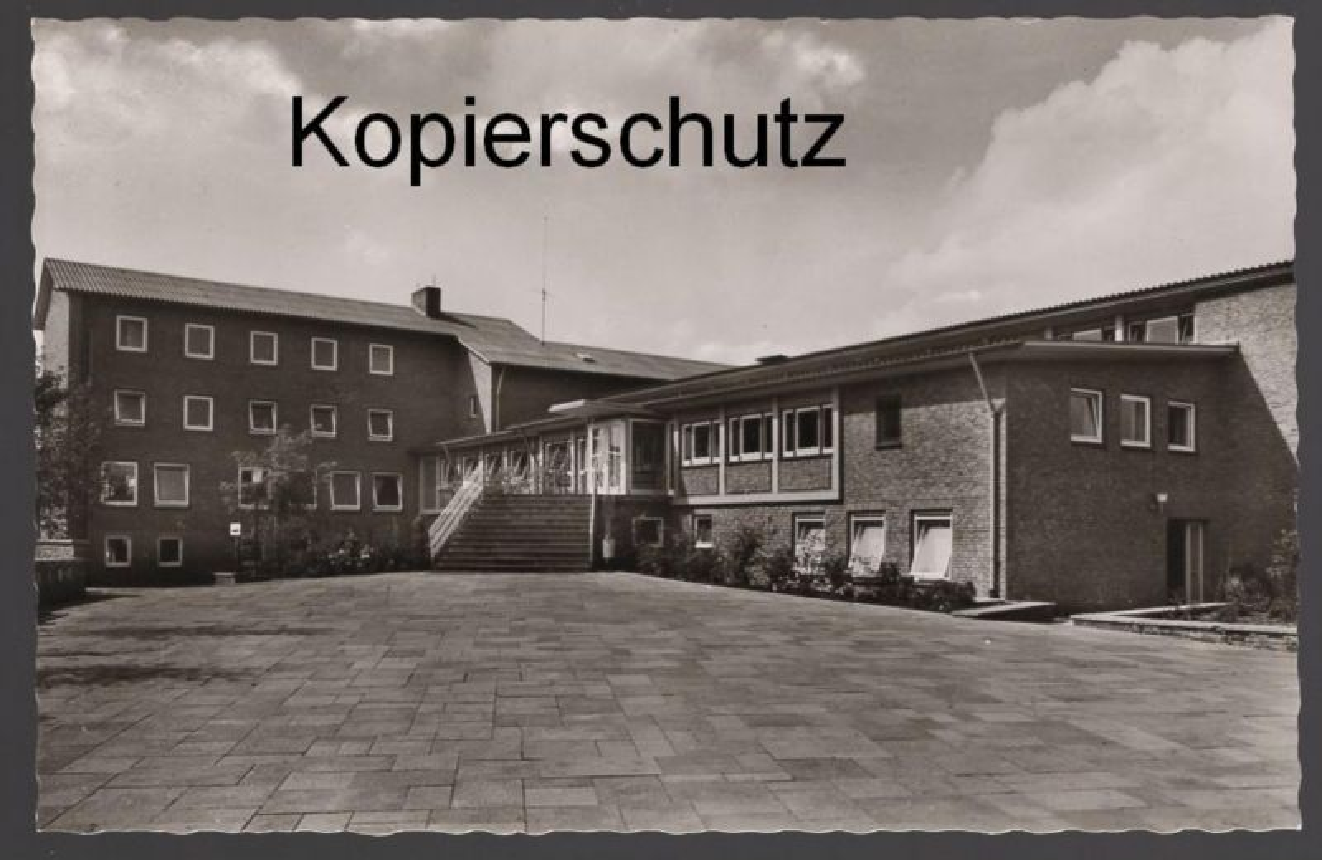 ÄLTERE POSTKARTE JUGENDHERBERGE MÜNSTER WESTF. youth hostel Ansichtskarte postcard cpa AK