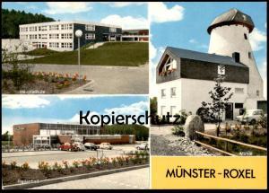 ÄLTERE POSTKARTE MÜNSTER ROXEL ehemalige Windmühle windmill moulin à vent Ansichtskarte cpa Ak postcard