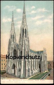 ALTE POSTKARTE ST. PATRICK'S CATHEDRAL NEW YORK postcard Ansichtskarte cpa AK