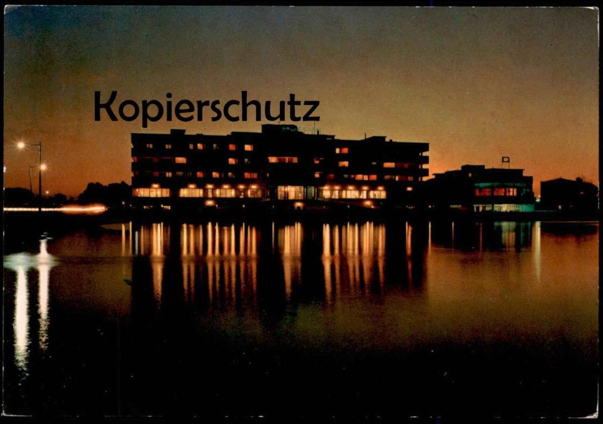ÄLTERE POSTKARTE BENGHAZI PALACE HOTEL Lybia cpa AK postcard Ansichtskarte