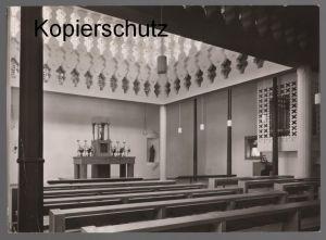 ÄLTERE POSTKARTE KATH. PFARRKIRCHE HERZ-JESU SCHILDGEN BEZ. KÖLN Bergisch Gladbach church église Ansichtskarte postcard
