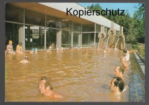 ÄLTERE POSTKARTE KÖLN THERMALBAD IM RHEINPARK Bad bath men swimming Männer hommes swimming pool cpa AK Ansichtskarte
