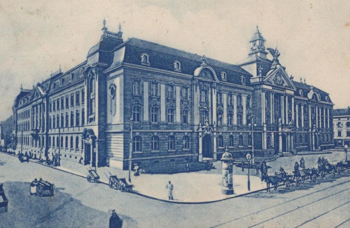 Post In Karlsruhe