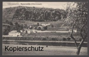 ALTE POSTKARTE GREVENMACHER DEYSERMÜHLE OBERMOSEL Luxembourg Luxemburg cpa AK Ansichtskarte postcard