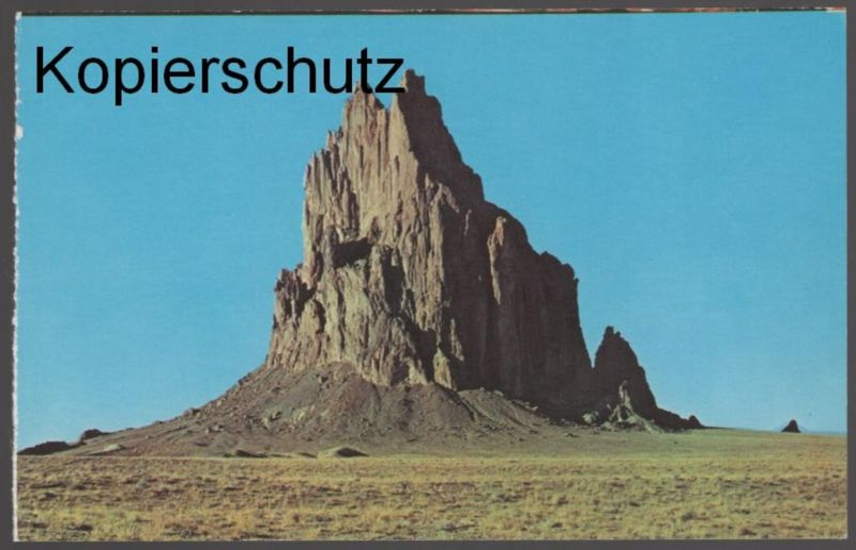 ÄLTERE POSTKARTE SHIPROCK NEW MEXICO cpa AK postcard Ansichtskarte