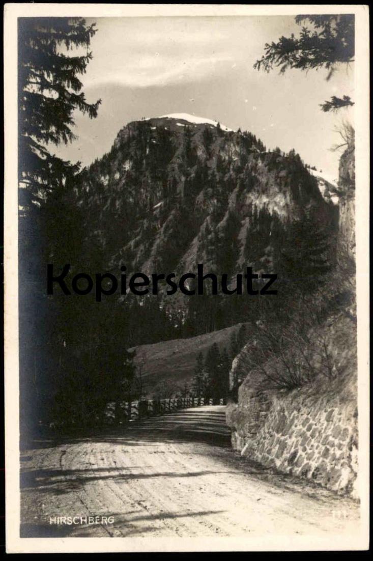 ALTE POSTKARTE HINDELANG ALLGÄU HIRSCHBERG Ansichtskarte cpa AK postcard