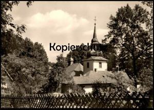 ÄLTERE POSTKARTE BERGISCH GLADBACH RÜCKANSICHT AUF DIE EVANGELISCHE KIRCHE church église Ansichtskarte cpa AK postcard