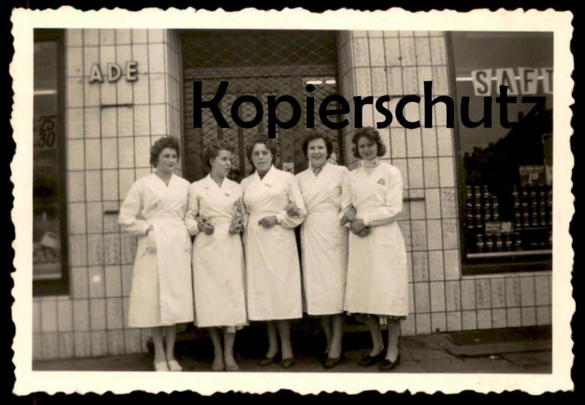 ALTES FOTO KONSUM AHAUS PHOTO 9*6,2 cm Ansichtskarte cpa AK postcard