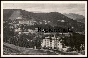 ALTE POSTKARTE KURORT SEMMERING PALACE-SANATORIUM IM VORDERGRUNDE postcard Ansichtskarte AK cpa