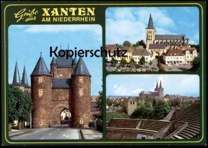 ÄLTERE POSTKARTE GRÜSSE AUS XANTEN AM NIEDERRHEIN cpa postcard Ansichtskarte AK