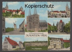 ÄLTERE POSTKARTE SIEGFRIEDSTADT XANTEN AM RHEIN Mühle windmill molen cpa postcard Ansichtskarte AK