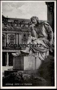 ALTE POSTKARTE WÜRZBURG WALTER V. D. VOGELWEIDE postcard cpa AK Ansichtskarte