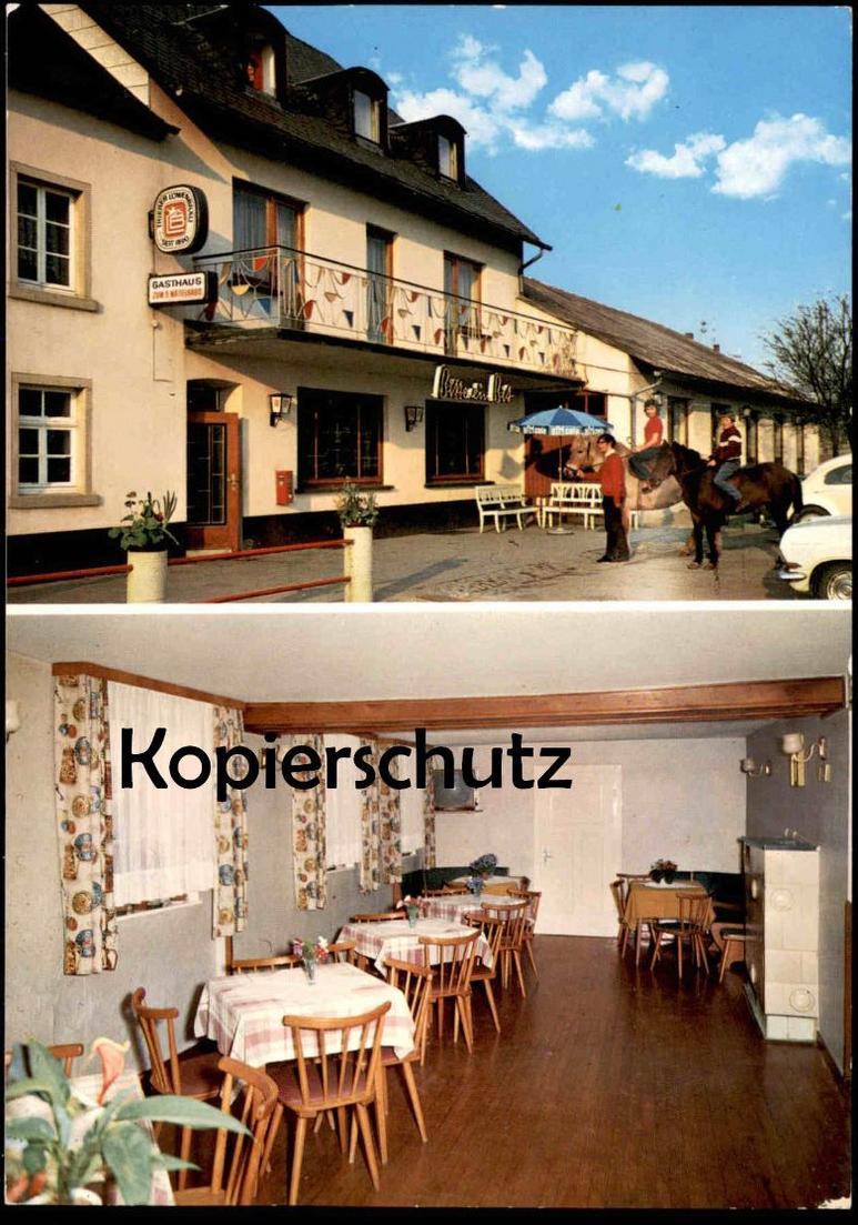 ÄLTERE AK LAMBERTSBERG EIFEL PENSION SCHILZ KREIS BITBURG-PRÜM ARZFELD Bitburger Bier beer Trierer Löwenbräu africola