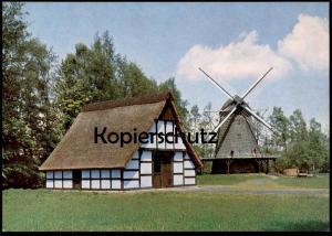 ÄLTERE POSTKARTE CLOPPENBURG KAPPENWINDMÜHLE WINDMÜHLE MÜHLE MOLEN windmolen moulin à vent wind mill windmill museum cpa