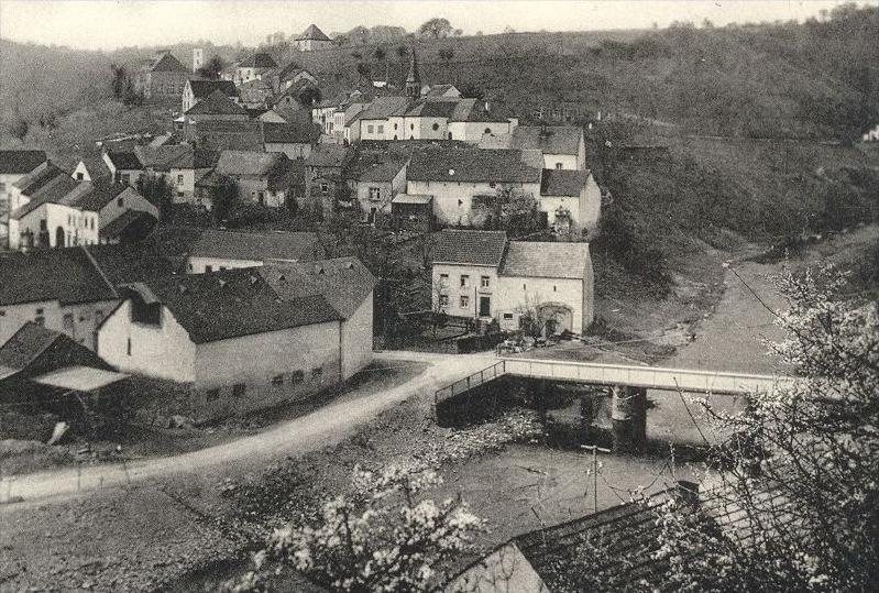 ÄLTERE POSTKARTE KOOSBÜSCH WISSMANNSDORF Wißmannsdorf Bitburger Land Stempel Bitburg Ansichtskarte cpa postcard AK 2