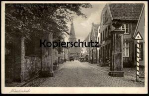ALTE POSTKARTE HORSTMAR MÜNSTERSTRASSE 1943 BEI BURGSTEINFURT Verkehrszeichen traffic road sign signal de circulation AK