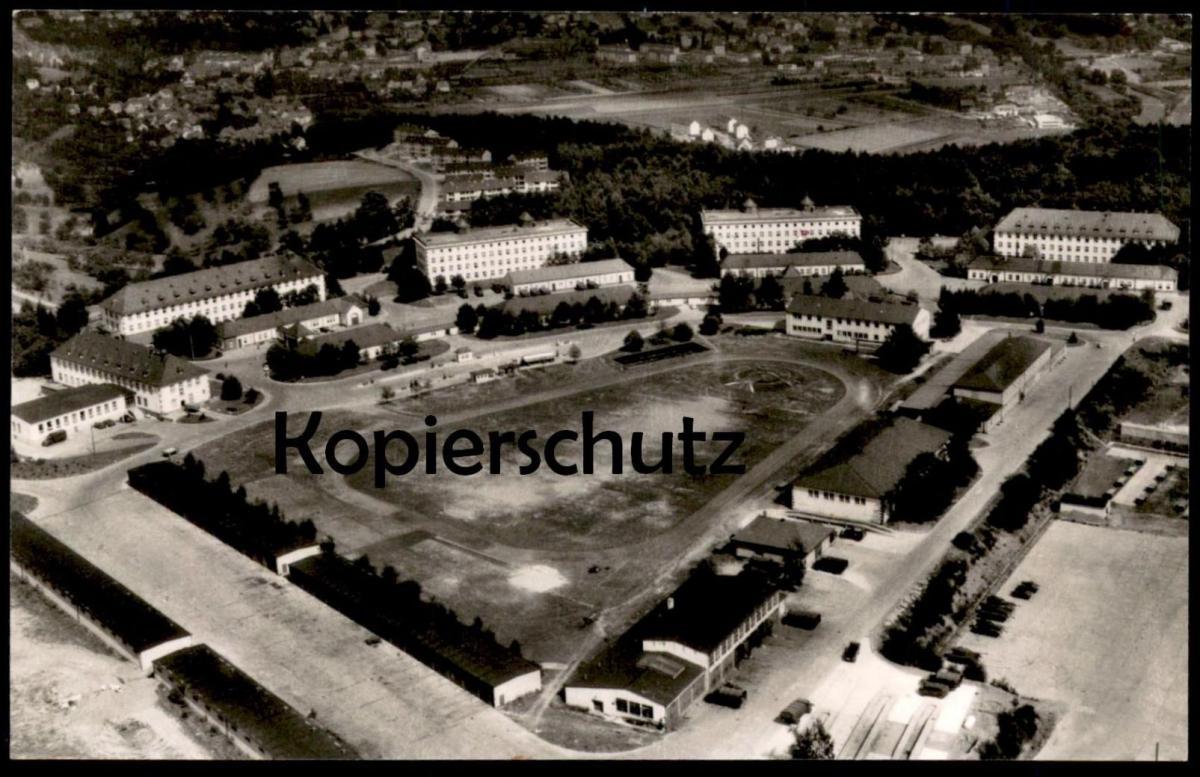 ÄLTERE POSTKARTE MARBURG TANNENBERGKASERNE Kaserne Panzer Fliegeraufnahme Luftbild casern barracks caserne armour blindé