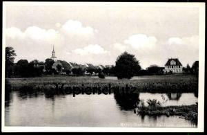 ALTE POSTKARTE WEND.-BUCHHOLZ SANDBANK BADESTELLE Wendisch- Märkisch Buchholz Dahme Bad bath cpa postcard Ansichtskarte