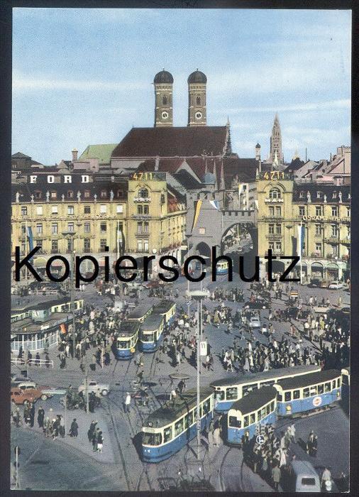 ltere postkarte m nchen karlsplatz stachus tram ford 4711 tramway strassenbahn osram ak. Black Bedroom Furniture Sets. Home Design Ideas