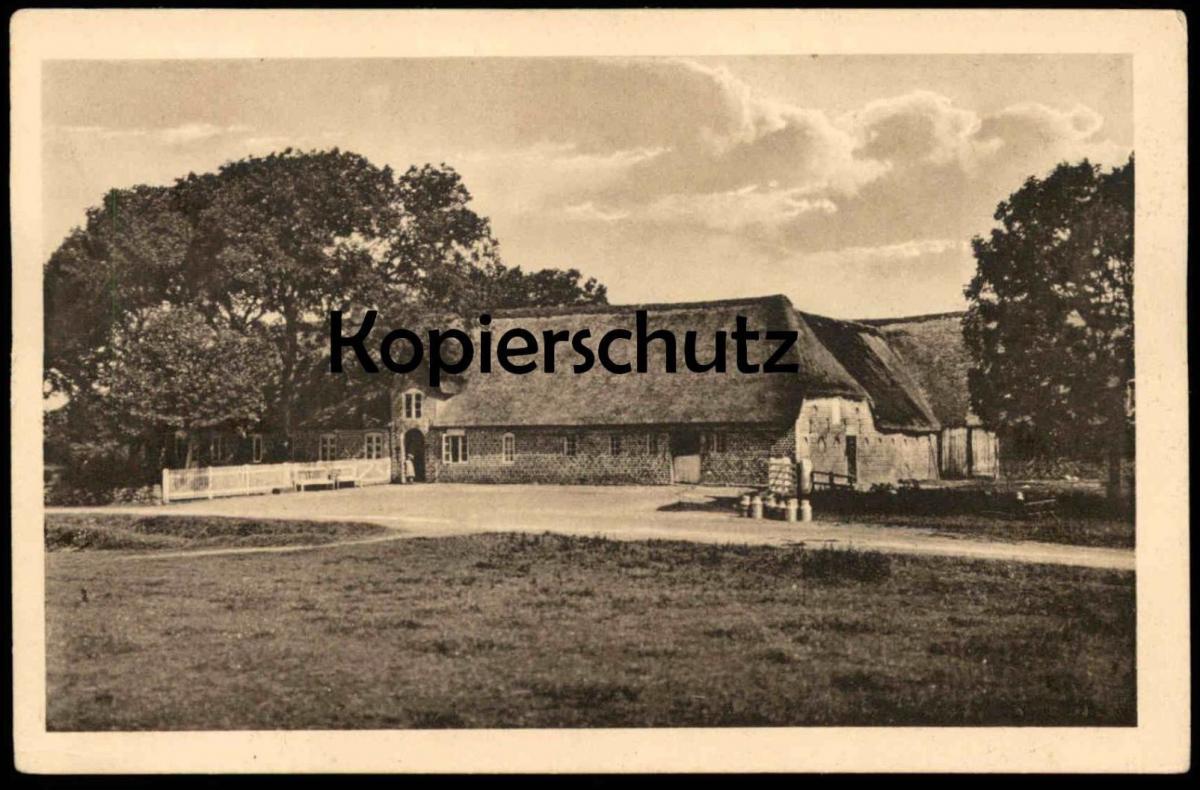 ALTE POSTKARTE SÜDER-SEIERSLEFF SÖNDER SEJERSLEFF BAUERNHAUS BAUERNHOF farm house ferme Milchkanne bidon à lait postcard