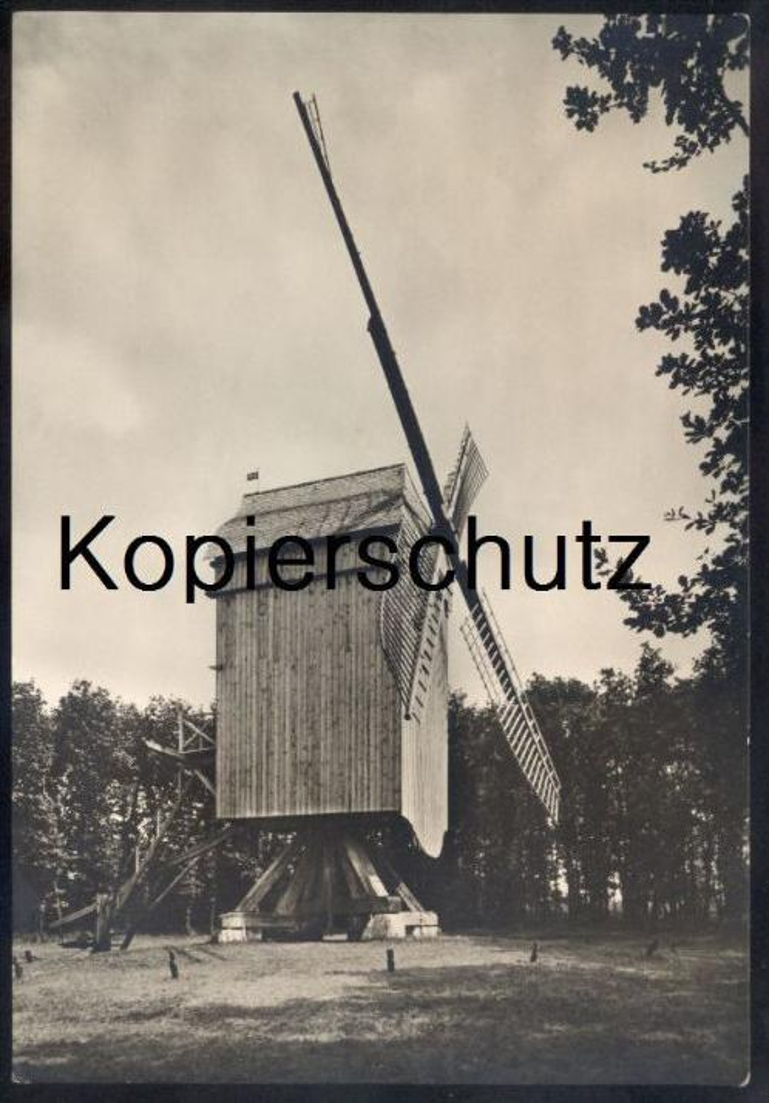 ÄLTERE POSTKARTE KOMMERN EIFEL BOCKWINDMÜHLE AUS SPIEL (JÜLICH) Windmühle Mühle Windmill Windmolen Molen Moulin à vent
