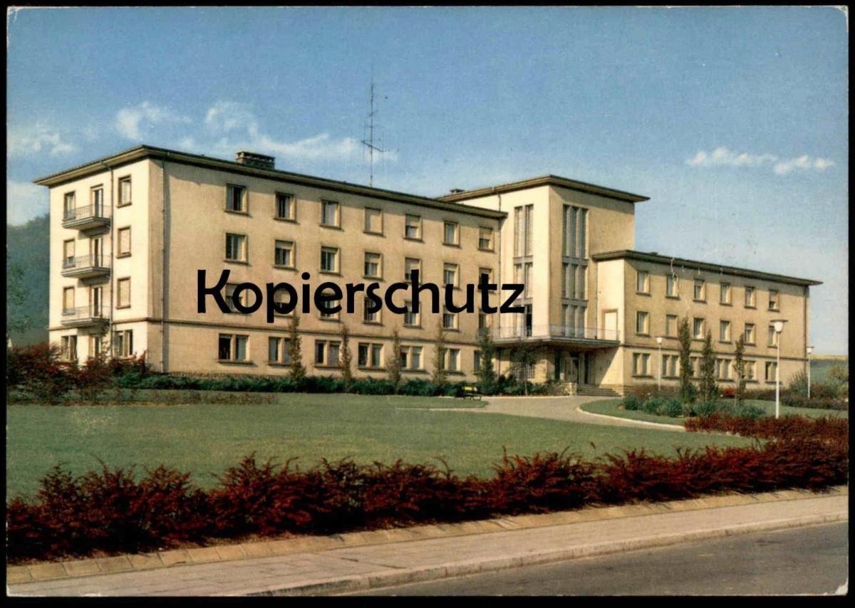 ÄLTERE POSTKARTE DIFFERDANGE MAISON DE RETRAITE À NIEDERCORN Differdingen Luxemburg Luxembourg postcard Ansichtskarte