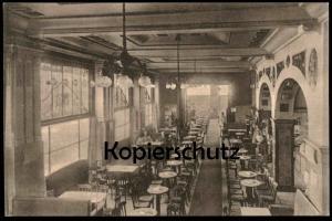 ALTE POSTKARTE MÜNSTER CAFÉ WAGNER INH. WILH. HOFMEISTER Feldpost Täglich Künstler-Konzert cpa postcard AK Anischtskarte